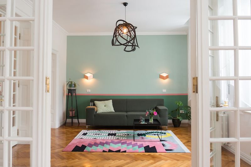 Dare to Rug Ironic Rug (Romanian Moods collection) in an interior .