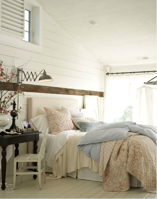 29 Romantic And Beautiful Provence Bedroom Décor Ideas | Country .