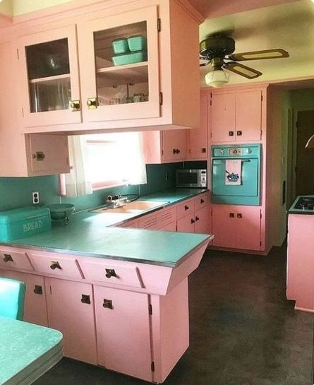 Pin by Lil's Forget Me Nots on Mid Century Kitchens | Interior .