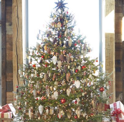 30 Rustic Christmas Trees - Ideas for Country Decorations on .