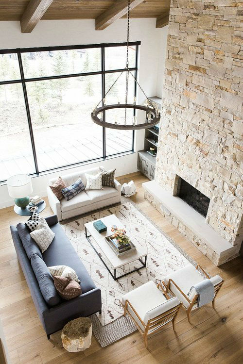 Rustic Meets Modern in Mountain Home | Decohol