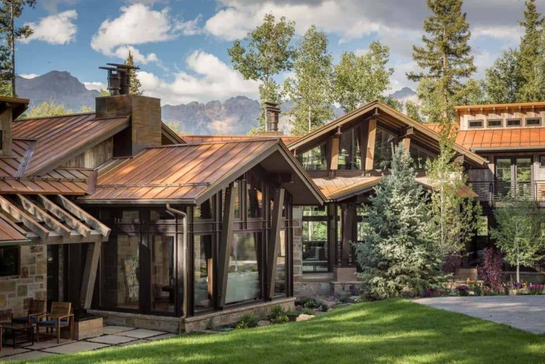 Rustic Mountain Home With Gorgeous Views - DigsDi