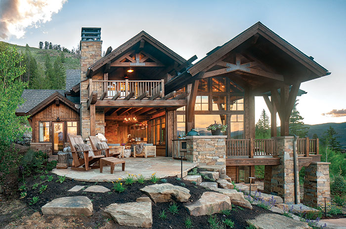 rustic mountain home Archives - Mountain Livi