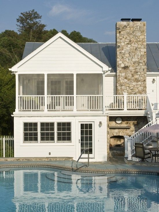 Second Story Screened Porch Design, Pictures, Remodel, Decor and .