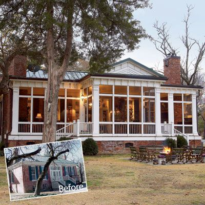 A New Old Porch   Porch addition, House exterior, Hou