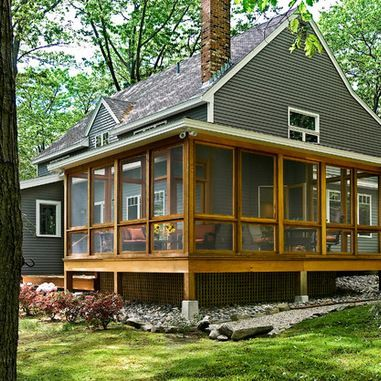 pictures+of+screened+in+porches+off+additions   Screen Porch .