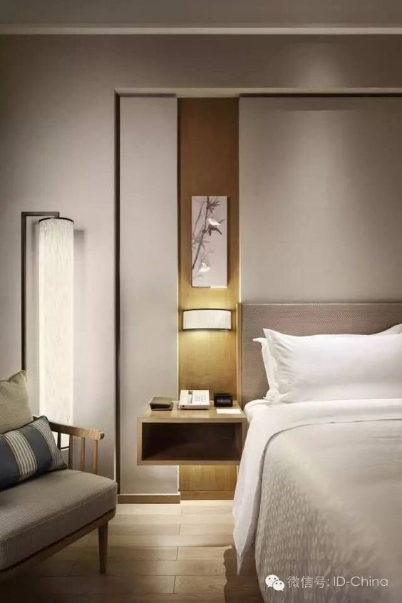 When Art Meets Design: Lumière Lighting Collection | Hotel room .