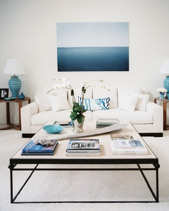 59 Sea And Beach Inspired Living Rooms - DigsDi