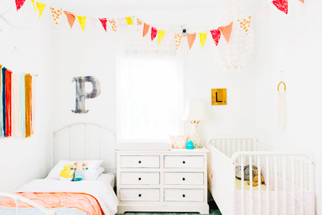 Room for two: 19 beautiful baby and toddler shared bedroo