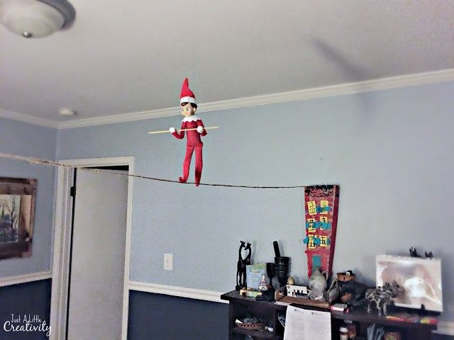 One month of Elf of the Shelf Ideas from | Elf on the shelf, E
