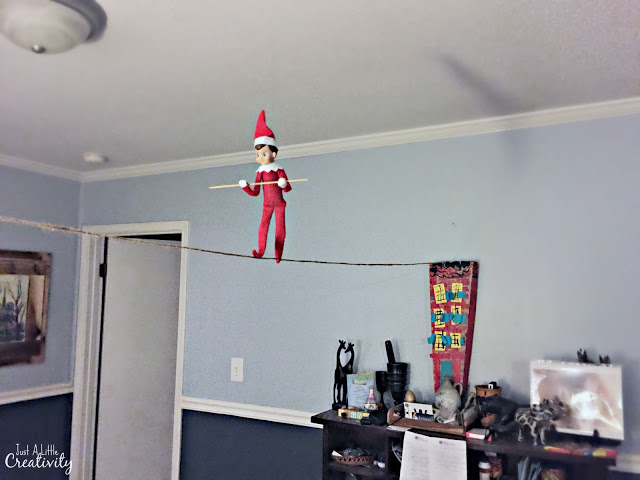 One month of Elf of the Shelf Ideas from Just a Little Creativi
