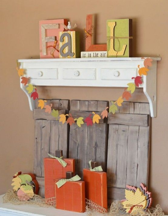 26 Simple And Cool Fall Banners Ideas For Home Décor   DigsDigs .