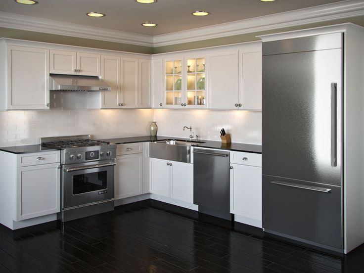 L-shaped kitchens: ideas and pictures for kitchen planning .