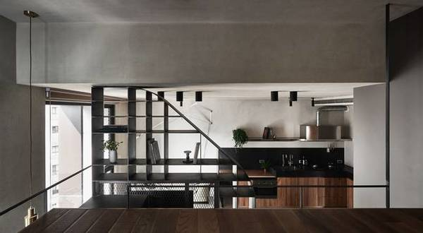 Small 420 sq. ft. apartment gets multifunctional redesign .