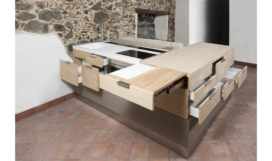 Salina - multifunctional furniture for small apartments by Artema .