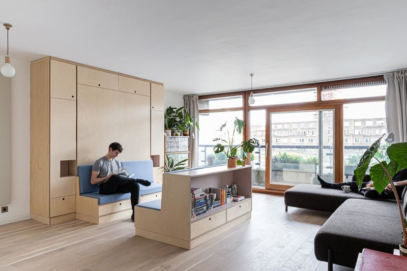 Multifunctional Furniture Apartments : small apartment in Lond