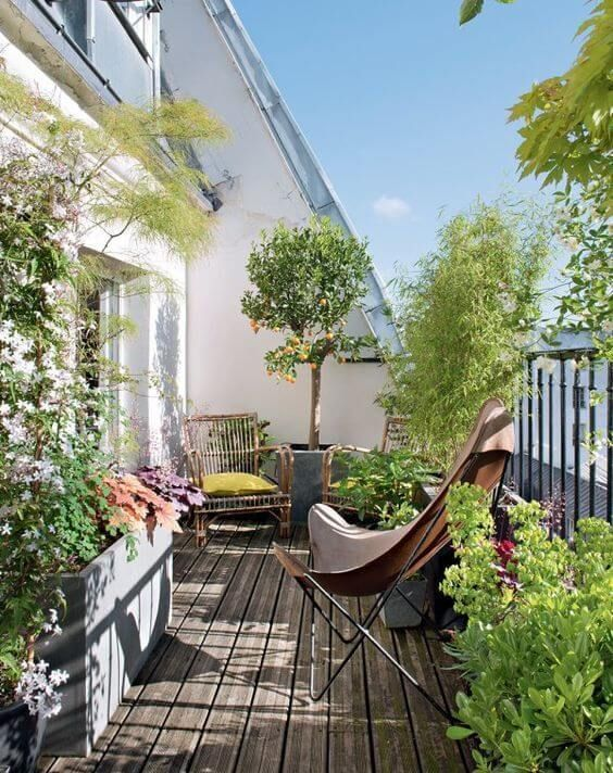 38 Small Terrace Design Projects to Maximize Your Small Space .