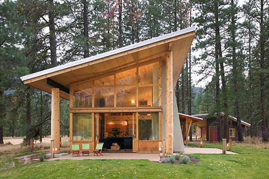 Small Wooden House Architecture Design Cabin Ideas - Home Gallery .