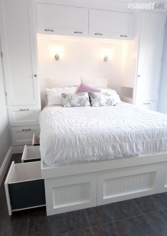 31 Smart Storage Beds That Won't Spoil Your Interior   Small .