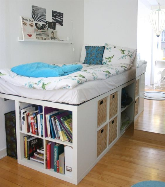31 Smart Storage Beds That Won't Spoil Your Interior   ベッド の .