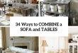 34 Smart Ways To Combine A Sofa And Tables And Chairs - DigsDi