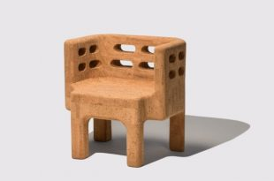 Sobreiro furniture collection consists almost entirely of cork .