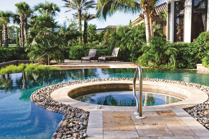 Outdoor Spa Ideas For Your Home   Inspiration and Ideas from .