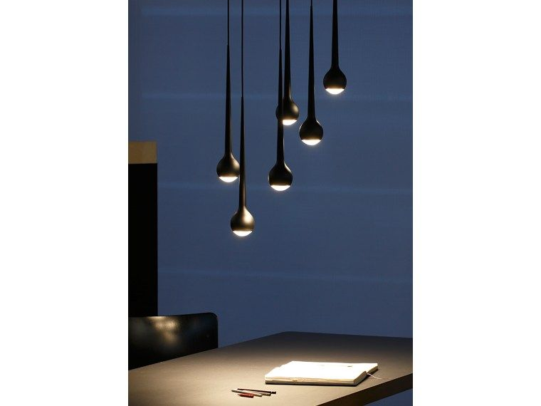 LED aluminium pendant lamp FALLING WATER FALLING Collection by .