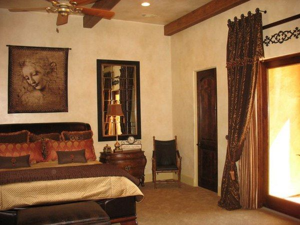 Decorate room Tuscan style | Cheap bedroom decor, Tuscan bedroom .