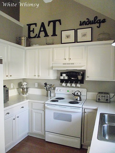 White Whimsy: A House Tour   Kitchen cabinets decor, Decorating .
