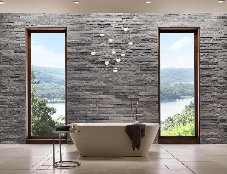 pbm1923 : PBM has design and ideas for stone accent wall .