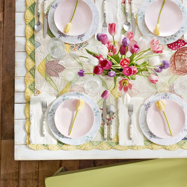 57 Spring Centerpieces and Table Decorations - Ideas for Spring .