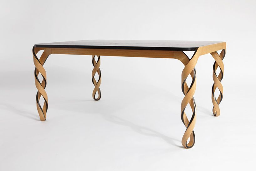 Stylish Unique Dining Tables Bring More Benefits: Spiral Table Leg .