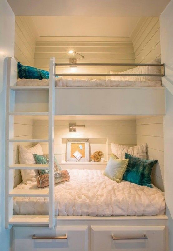 45 Functional And Stylish Kids' Bunk Beds With Lights | Bunk beds .