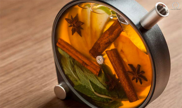 The Porthole Infuser Turns Drinks Into Tasty Art - At Home with .