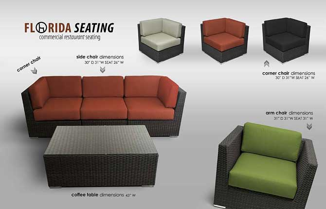 Stylish Outdoor Restaurant Seating & Dining Furniture .