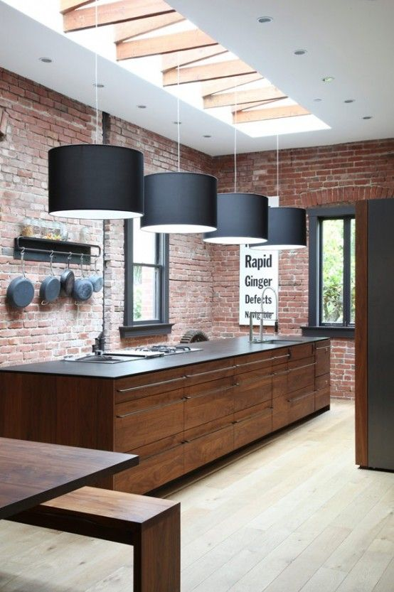 Stylish Wooden Kitchens That Arent Boring   Eclectic kitchen .