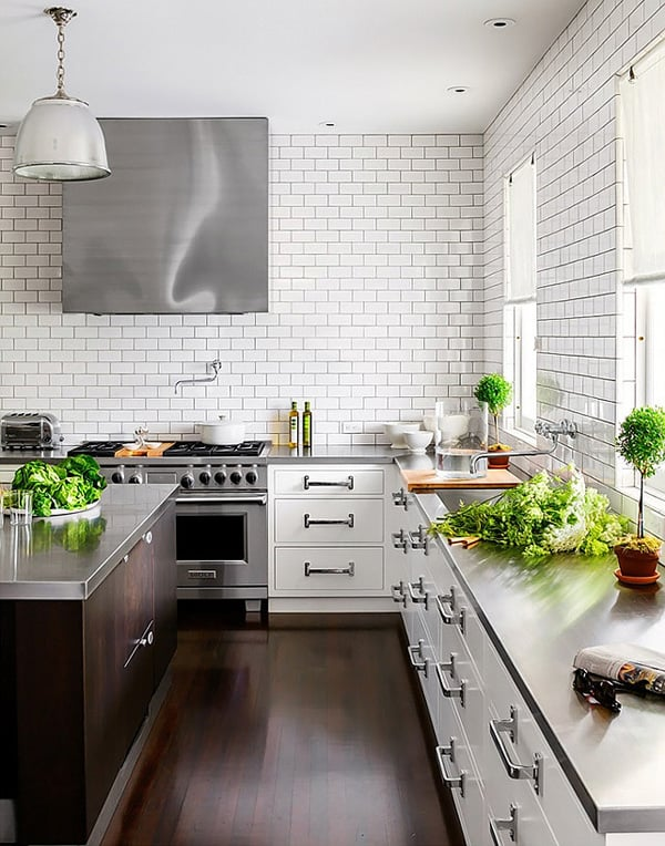 47 Absolutely brilliant subway tile kitchen ide
