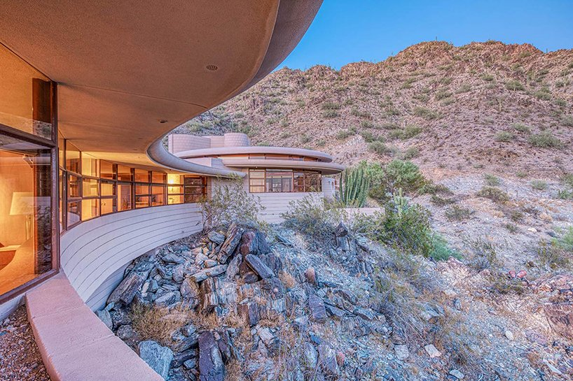 frank lloyd wright's circular sun house in arizona is going up for .