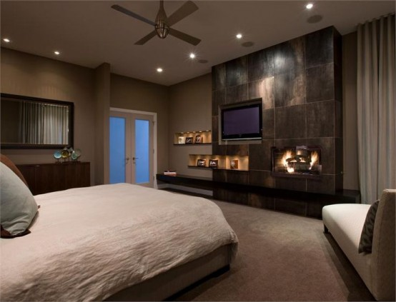 27 Super Cozy And Comfy Bedrooms With A Fireplace - DigsDi