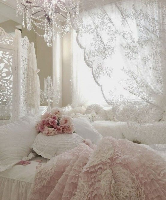 33 Sweet Shabby Chic Bedroom Décor Ideas - DigsDigs | Shabby chic .