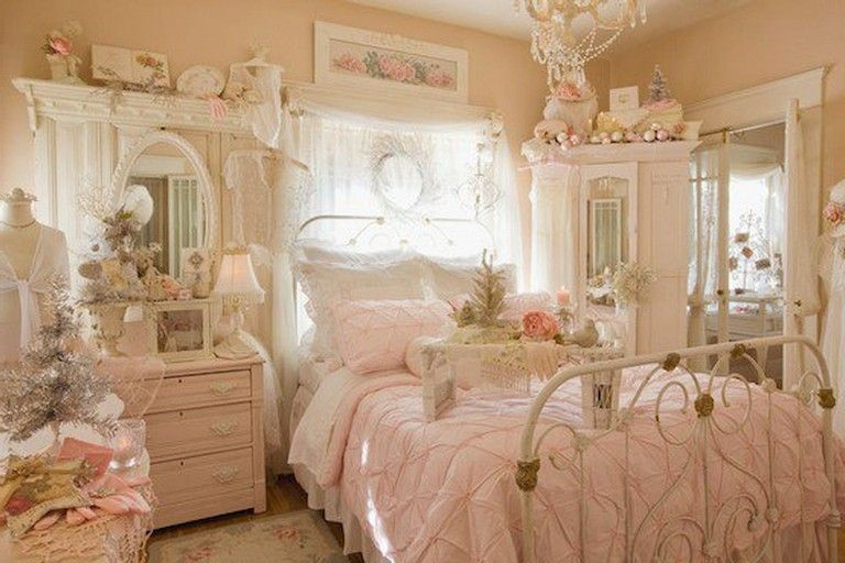 85+ Sweet Shabby Chic Bedroom Decor Furniture Inspirations .