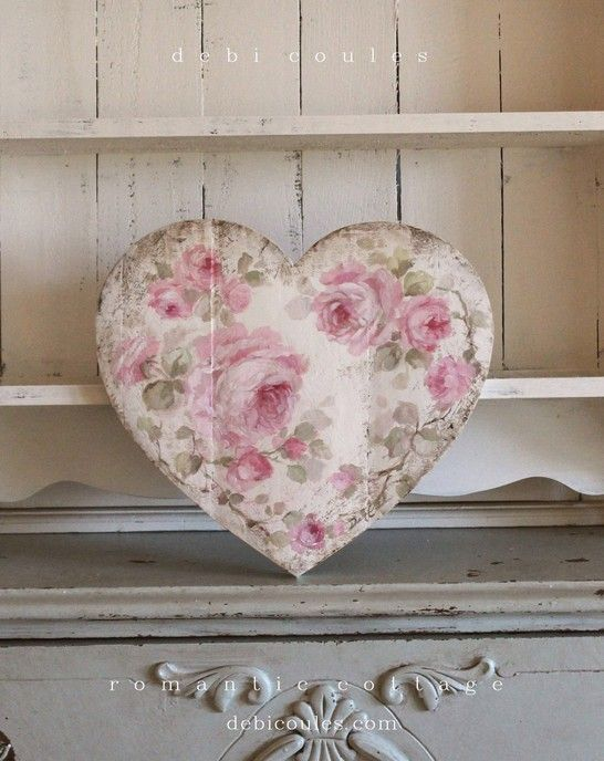 Cool 21 Sweet Shabby Chic Valentine's Day Decor Ideas https .