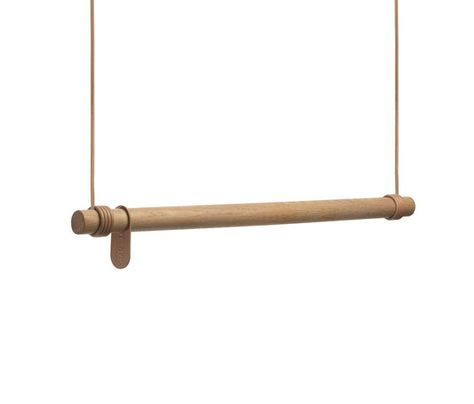 Swing by LINDDNA | Ceiling mounted coat racks | Retail store .