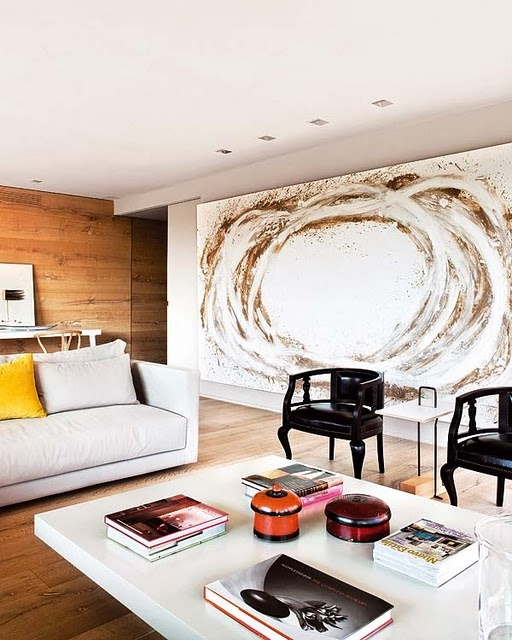 The Latest Décor Trend: 31 Large Scale Wall Art Ideas - DigsDi