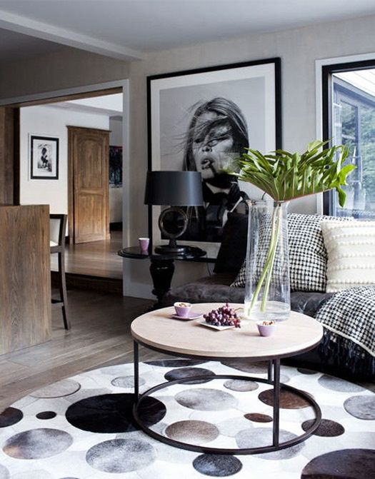 Tip: Large scale artwork gives a focal point to a room that's .
