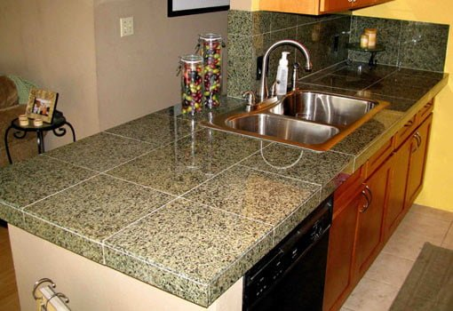 How to Install a Granite Tile Countertop   Today's Homeown