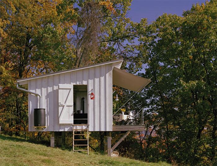 The Shack - An Incredible, Tiny Off Grid Retreat - Off Grid Wor