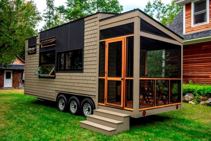Tiny House for Sale - 25 foot Tiny House on wheels wi
