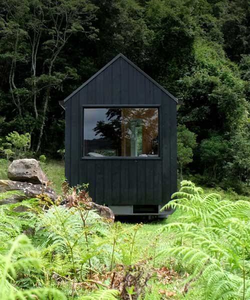 fresh prince designs tiny off-grid cabin for sustainable summer .